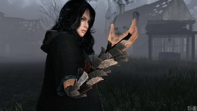 BlackDesert колдунья