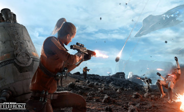 Бета Star Wars Battlefront