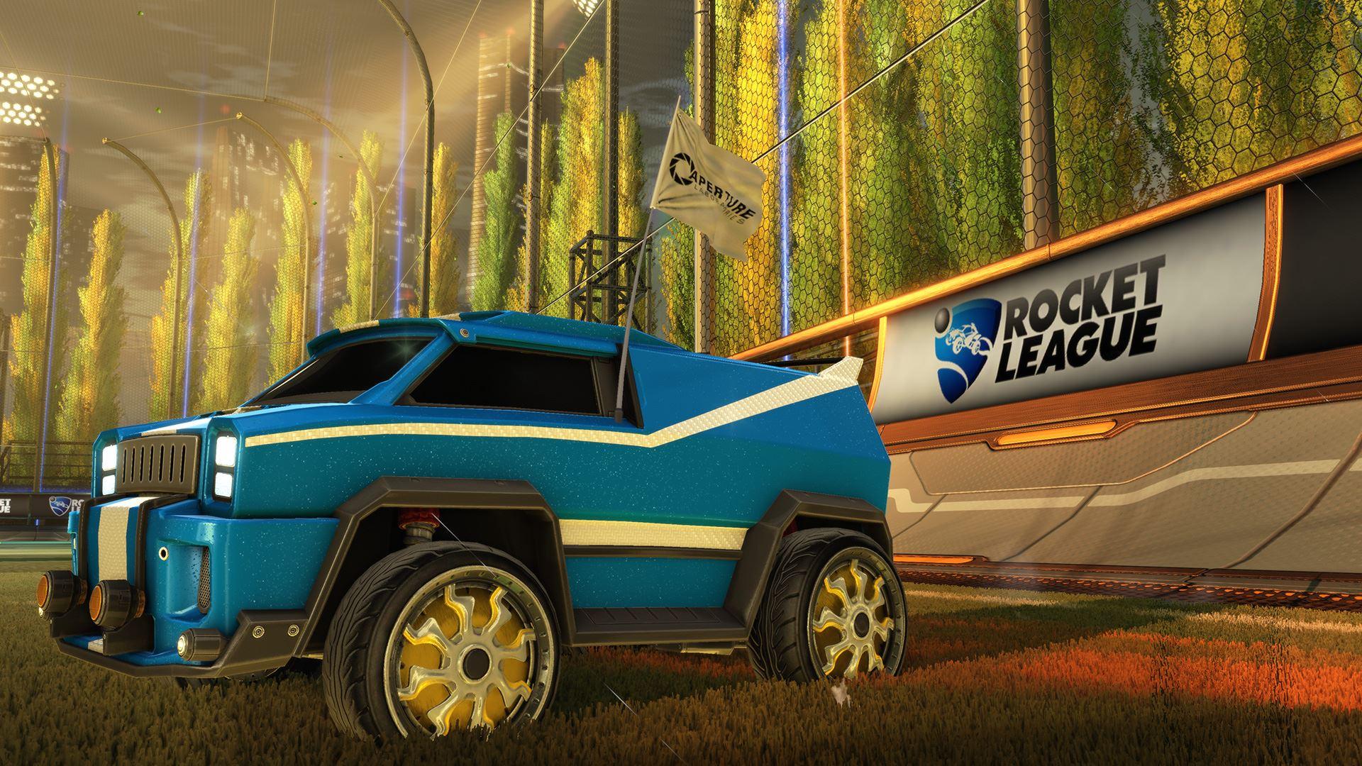 Атрибутика Portal в Rocket League