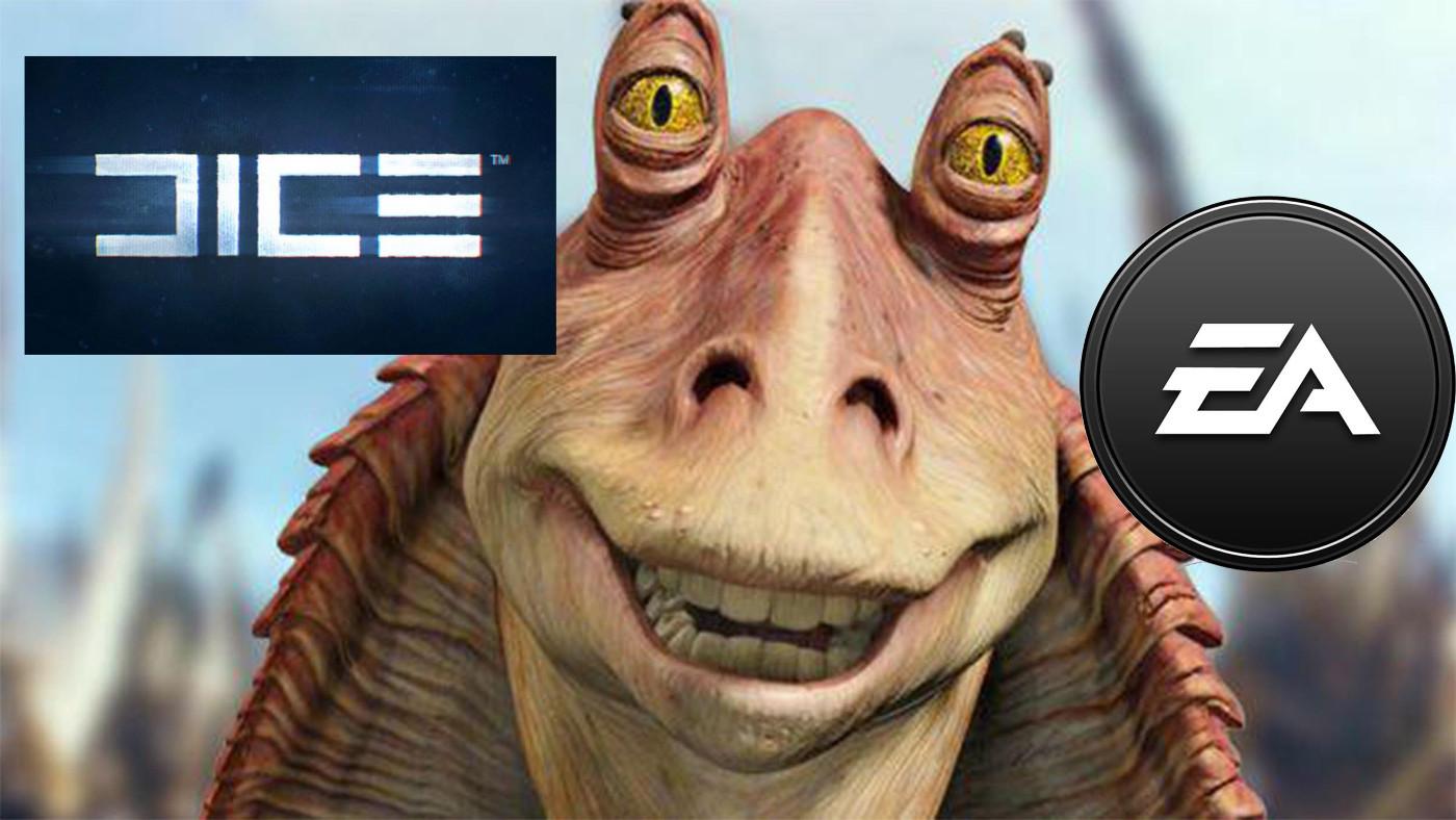 Реклама для Star Wars Battlefront