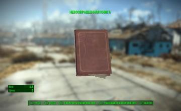 Невозвращенная книга в Fallout 4